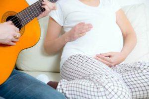 Musik hamil