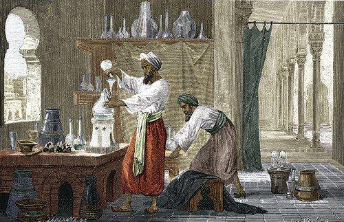 sejarah zaman kuno aroma musk