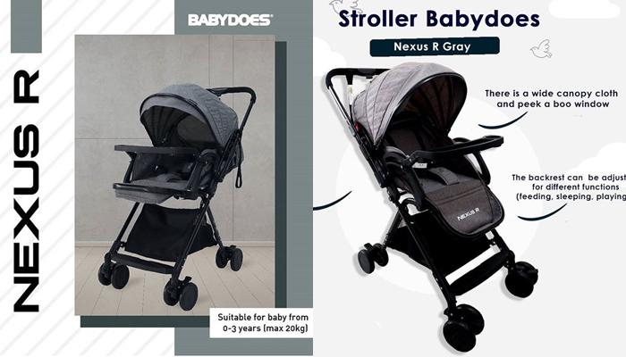 Stroller Reversible Baby Does Nexus R+