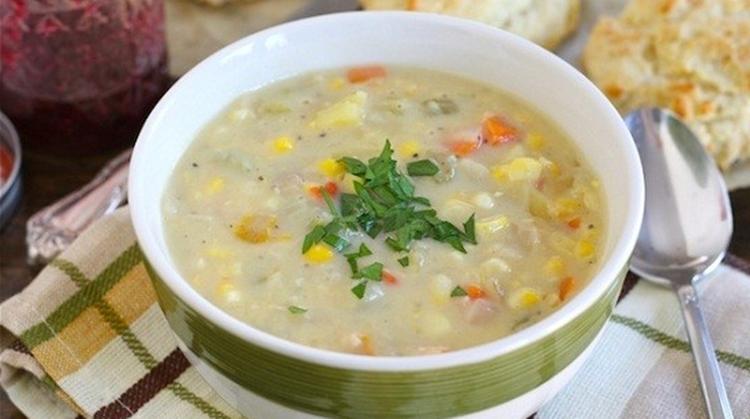 olahan asparagus sup krim